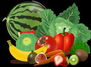 ירקות ופרות