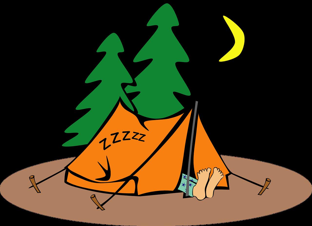 אוהל בטיול