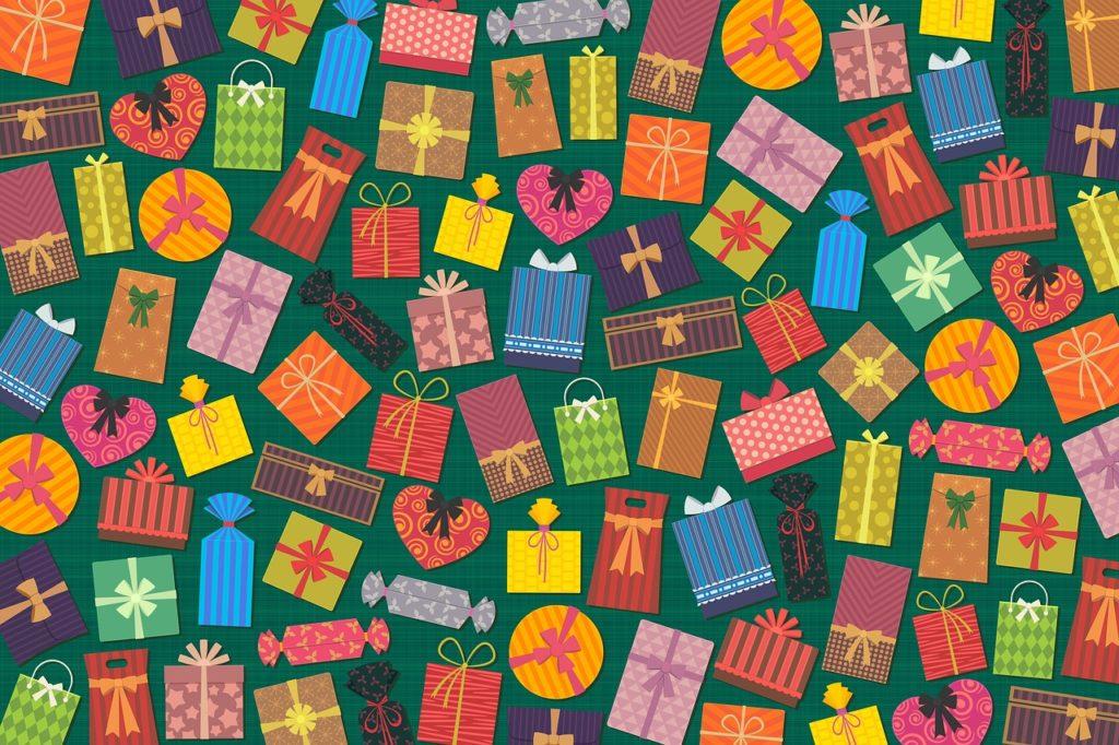 מגוון של מתנות