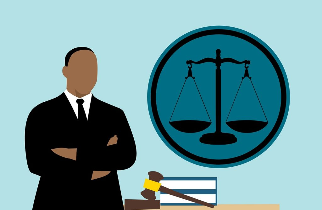 עורך דין שילוב ידיים