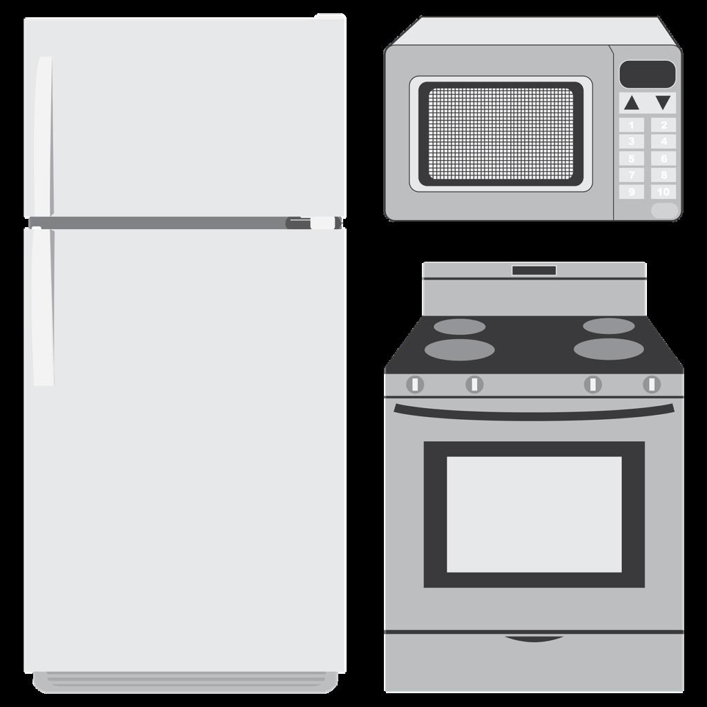 תנור מקרר ומיקרוגל
