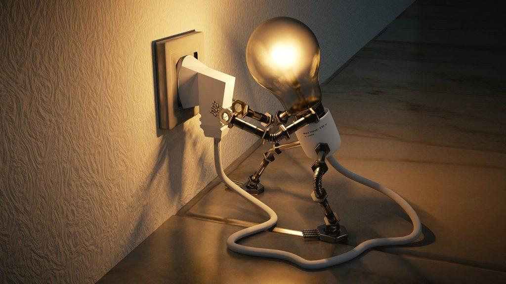 חיבור שקע לחשמל