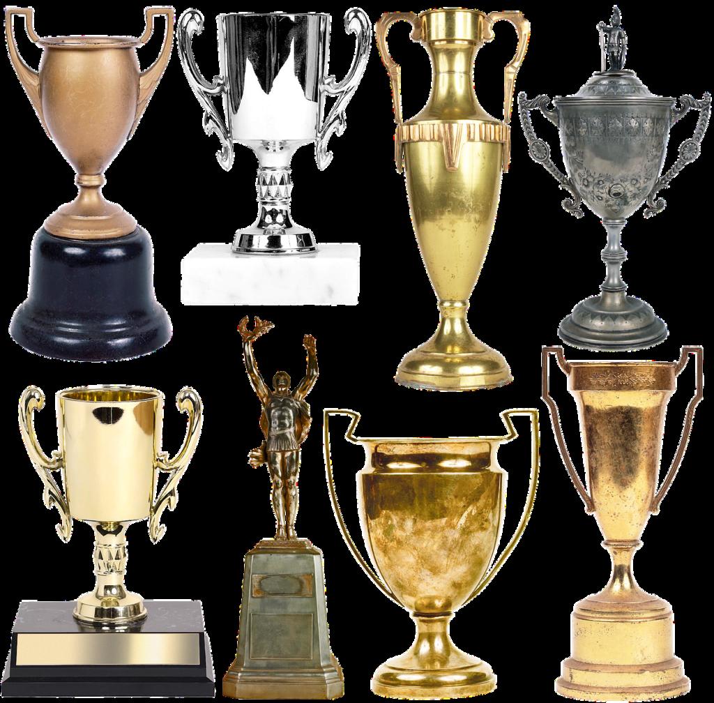 סוגים שונים של גביעים